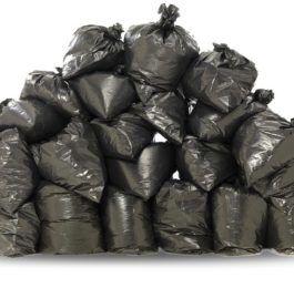вывоз мусора в мешка